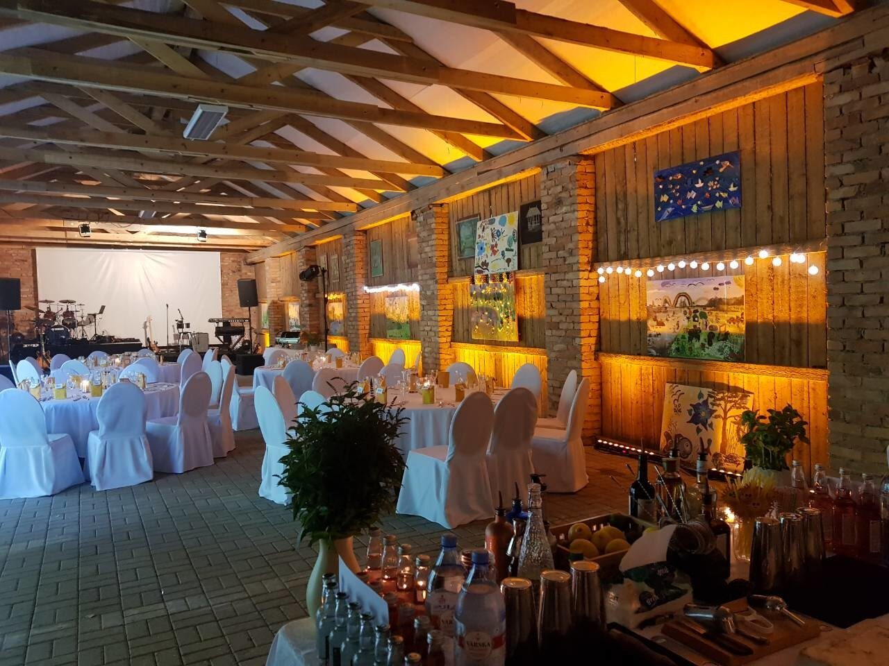 Organize your events in Luke Manor